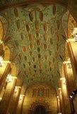 Interior histórico del museo del estado de Moscú imagen de archivo