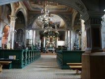 Interior. Of the historic church Stock Image