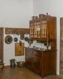 Interior historic manor Stock Photo