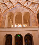 The interior of Historic old house in Kashan, Iran Stock Photography