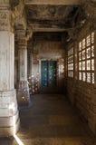 Interior of historic Tomb of Mehmud Begada, Sultan of Gujarat Stock Photos