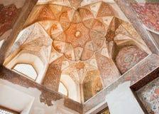 Interior of historical Hasht Behesht Palace. Royalty Free Stock Images