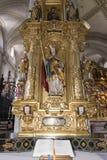 Interior of Hof Church, Lucerne Royalty Free Stock Image