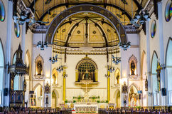 Interior of Holy Rosary Chruch Royalty Free Stock Photo