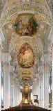 Interior of the Holy Spirit Church in Munich Stock Photo