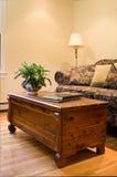 Interior Home aqueça e do convite Imagens de Stock Royalty Free