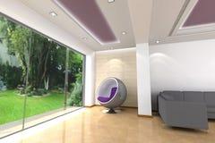 Interior Home 3D Imagens de Stock Royalty Free