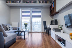 Interior home funcional no estilo novo Foto de Stock