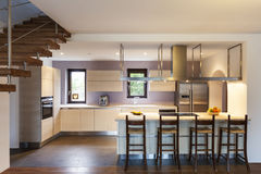 Interior home, kitchen Stock Images