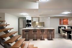 Interior home luxuoso Foto de Stock Royalty Free
