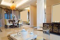 Interior home luxuoso Fotografia de Stock