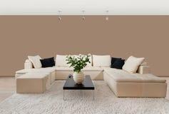 Interior home moderno Imagens de Stock Royalty Free