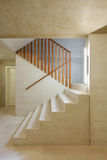 Interior home, staircase Royalty Free Stock Photos