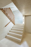 Interior home, staircase Royalty Free Stock Image
