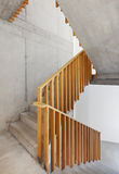 Interior home, staircase Royalty Free Stock Images