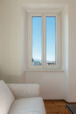 Interior home, window Royalty Free Stock Photography