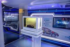 Interior of the Honda caravan Royalty Free Stock Photo