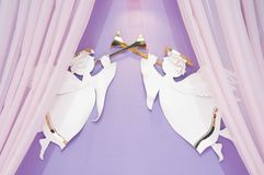 Interior of honeymoon room Stock Photography