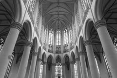Interior of the Hoogslandse Kerk, Leiden Royalty Free Stock Image