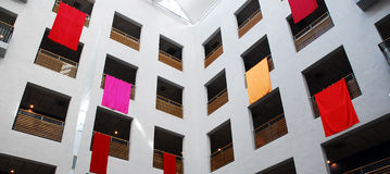Interior of the Hospital. New modern Children´s hospital in Lund Sweden Stock Images