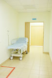 Interior of a hospital corridor Stock Images