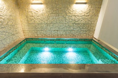 Interior, hot tub Stock Photography
