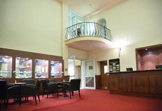 Interior of hotel Stock Images