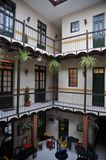 The interior of the hotel in La Paz Royalty Free Stock Image