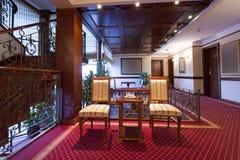 Interior of a hotel lobby Stock Image