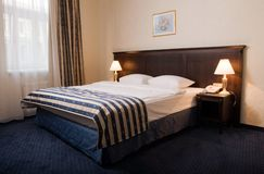 Interior of a hotel room Stock Photo