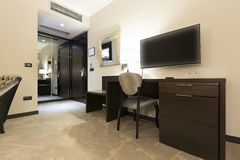 Interior of a hotel room.  Royalty Free Stock Images