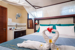 Interior of hotel room, Bali Royalty Free Stock Images