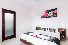 Interior of hotel room, Bali Royalty Free Stock Photos