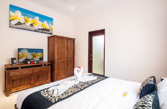 Interior of hotel room, Bali Stock Photos