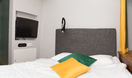 Interior of a hotel room Royalty Free Stock Image
