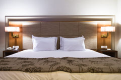 Interior of Hotel Room Royalty Free Stock Image