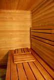 Interior of a hotel sauna Stock Photos