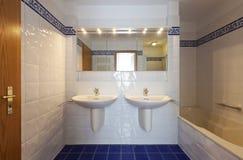 Interior house, bathroom Stock Photos