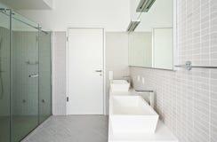 Interior house, bathroom Royalty Free Stock Photos