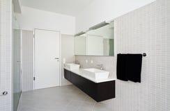 Interior house, bathroom Royalty Free Stock Photo
