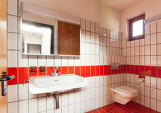Interior house, bathroom Royalty Free Stock Images