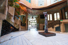 Interior of the house Casa Mila Royalty Free Stock Photography
