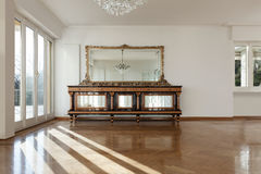 Interior of an house, empty room Royalty Free Stock Photography