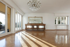 Interior of an house, empty room Stock Photo