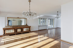 Interior of an house, empty room Stock Image