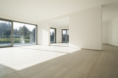 Interior house, large room Royalty Free Stock Photography