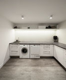 Interior of house, laundry Royalty Free Stock Photography