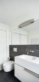 Interior house, modern bathroom Stock Photos