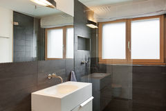 Interior house, modern bathroom Stock Photo