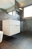 Interior house, modern bathroom Stock Images